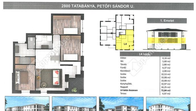 0. kép | Eladó Társasházi lakás, Tatabánya (#152318)