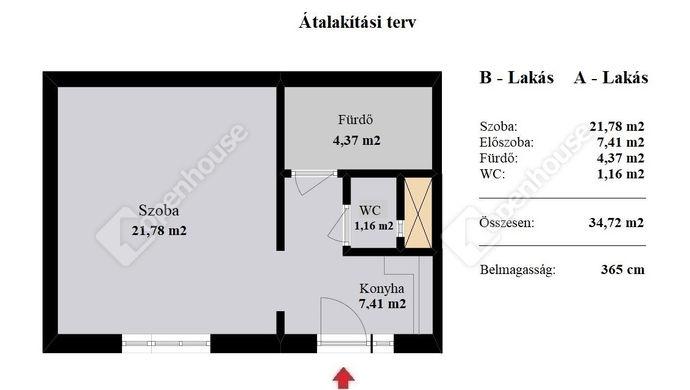 5. kép | Eladó Társasházi lakás, Budapest VII. Ker. (#137918)