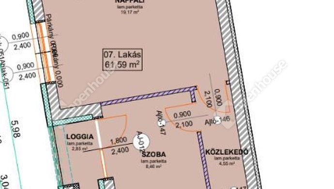2. kép | Eladó Társasházi lakás, Szeged (#136275)