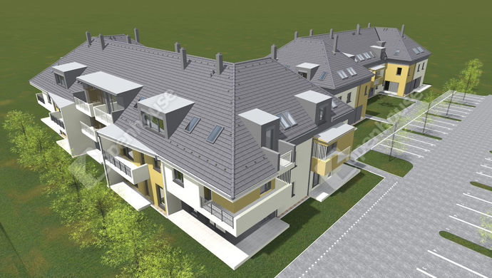 2. kép   új építésű lakás   Eladó Társasházi lakás, Gárdony (#139805)