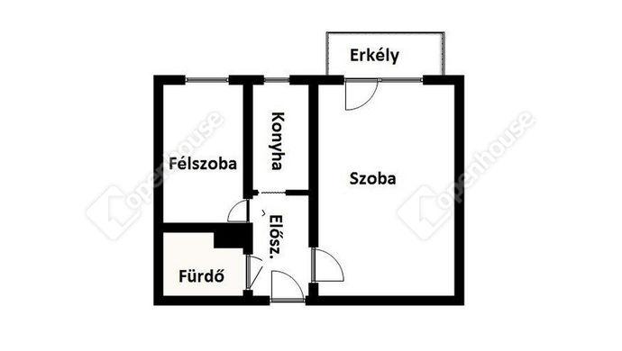 2. kép | Eladó Társasházi lakás, Miskolc (#140717)