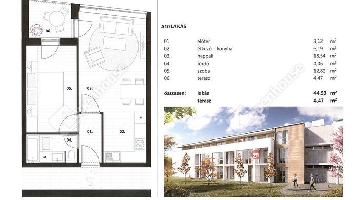 9. kép   Kiadó Társasházi lakás, Siófok (#141245)