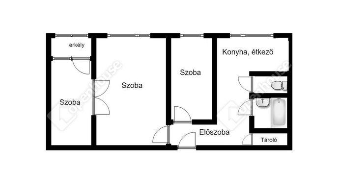 3. kép   Eladó Társasházi lakás, Miskolc (#144097)
