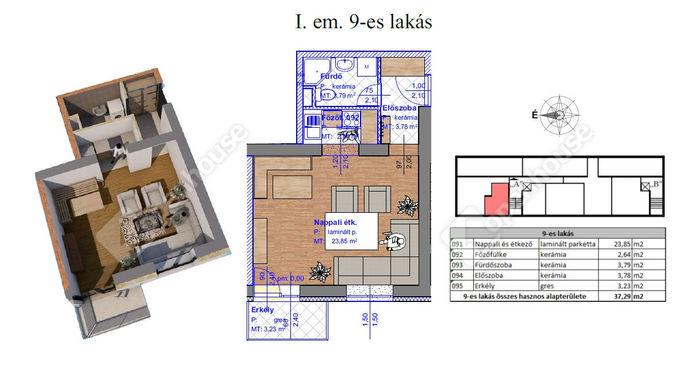 2. kép | Eladó Társasházi lakás, Miskolc (#143563)