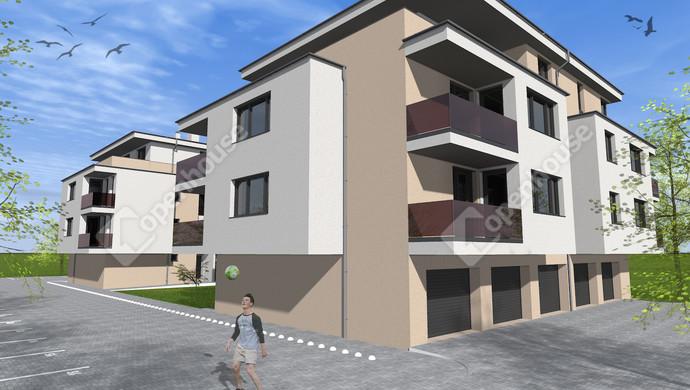 1. kép   Eladó új építésű lakás Székesfehérváron.   Eladó Társasházi lakás, Székesfehérvár (#133641)