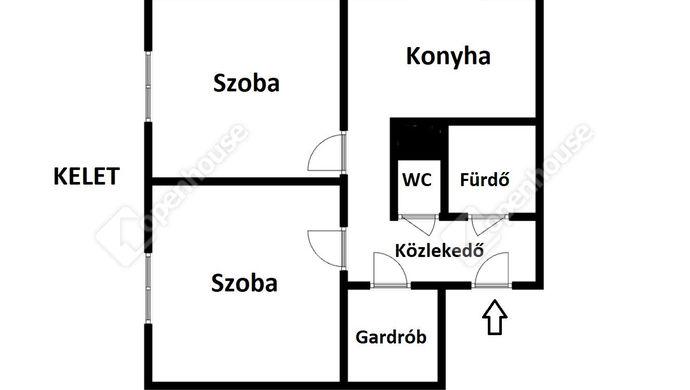 2. kép   Eladó Társasházi lakás, Miskolc (#148440)