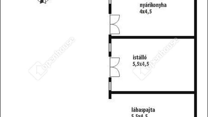 7. kép   Alaprajz-gazdasági rész   Eladó Családi ház, Salomvár (#145820)