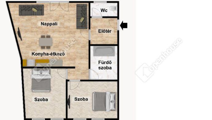 3. kép   Eladó Társasházi lakás, Eger (#152496)