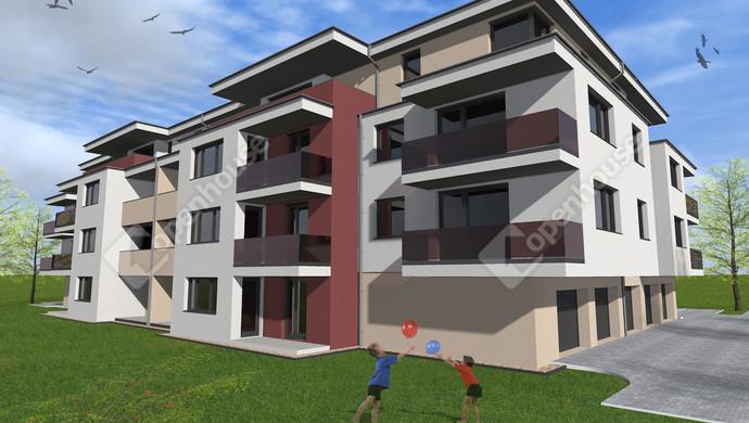 2. kép   Eladó új építésű lakás Székesfehérváron.   Eladó Társasházi lakás, Székesfehérvár (#133641)