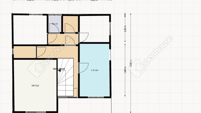 26. kép | Pontosított földszinti alaprajz | Eladó Családi ház, Siófok (#152219)