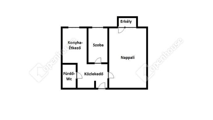 2. kép | Eladó Társasházi lakás, Miskolc (#142247)