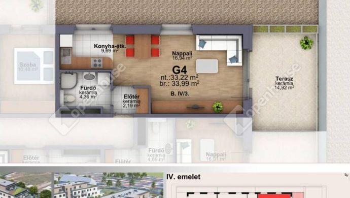 4. kép   Eladó Társasházi lakás, Szombathely (#153264)