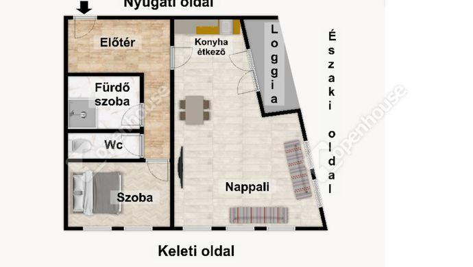 3. kép   Eladó Társasházi lakás, Eger (#152490)