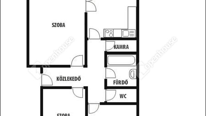 25. kép | Alaprajz | Eladó Társasházi lakás, Zalaegerszeg (#129902)
