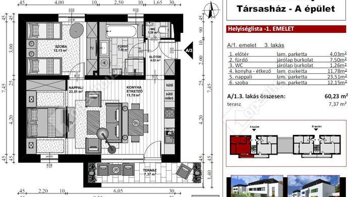 6. kép   Eladó Társasházi lakás, Szombathely (#136056)