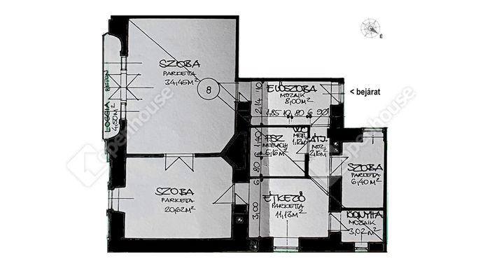 2. kép | Eladó Társasházi lakás, Sárospatak (#148416)
