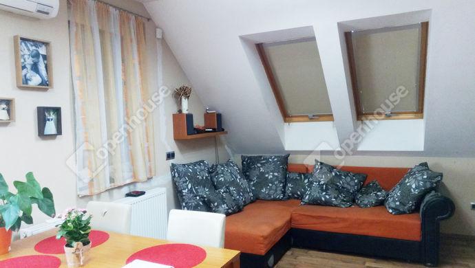 2. kép   Nappali   Eladó Társasházi lakás, Szeged (#138827)