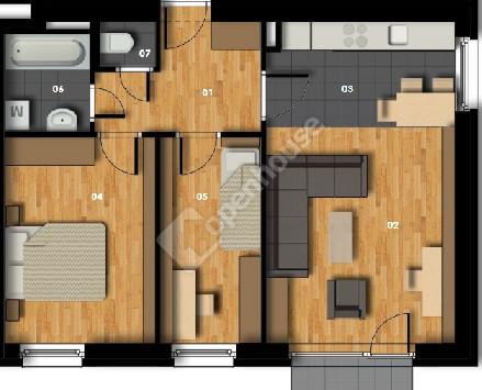 3. kép | Eladó Társasházi lakás, Rajka (#128190)