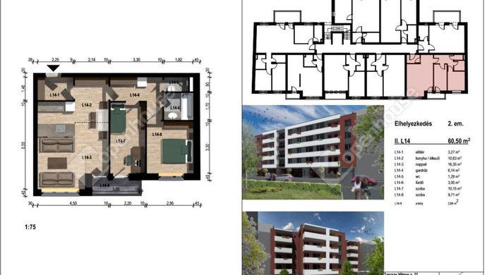 1. kép | Eladó Társasházi lakás, Győr (#133034)