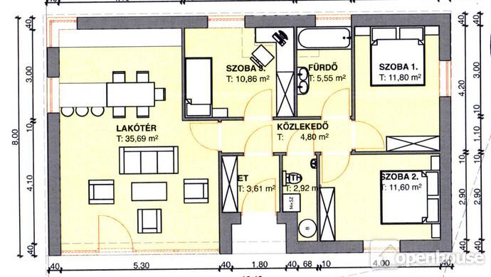 1. kép   Eladó Családi ház, Harka (#113817)