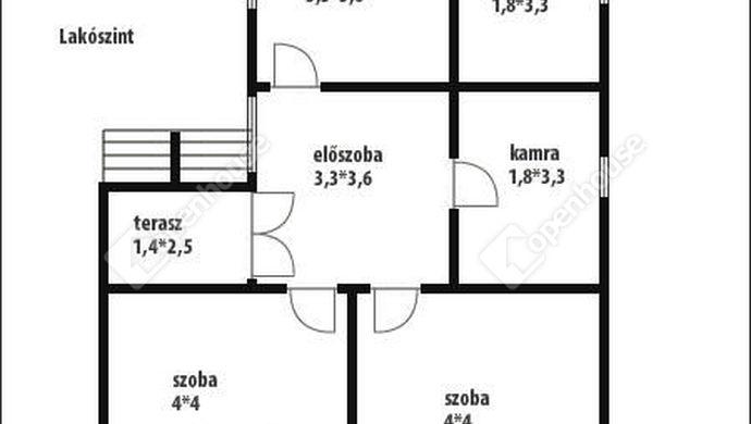 6. kép | Alaprajz | Eladó Családi ház, Nova (#144457)
