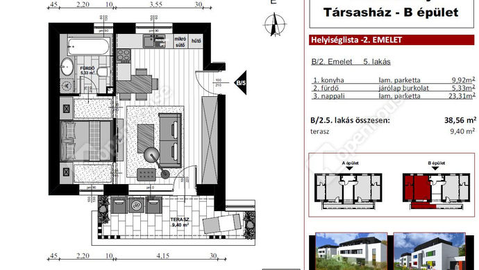 6. kép | Eladó Társasházi lakás, Szombathely (#136081)