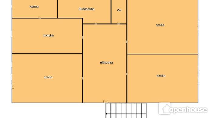 12. kép | Ház alaprajz | Eladó Családi ház, Tata (#114141)
