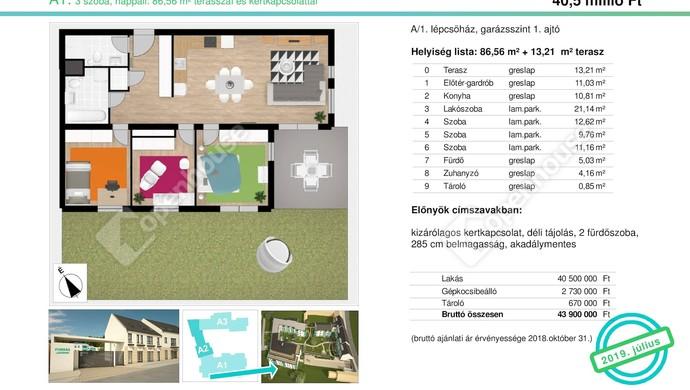 0. kép | Eladó Társasházi lakás, Tata (#132509)