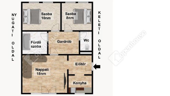 3. kép | Eladó Társasházi lakás, Eger (#152487)