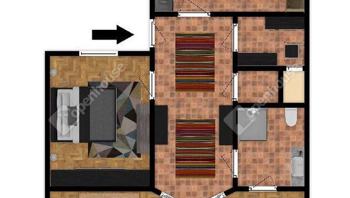 0. kép   Alaprajz 2D   Eladó Társasházi lakás, Szeged (#143448)