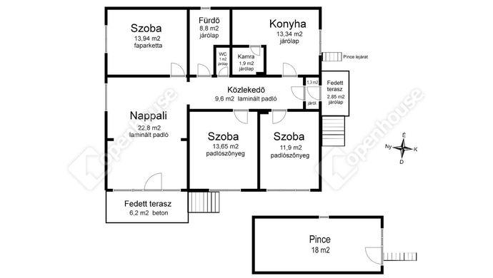 2. kép   Eladó Családi ház, Bőcs (#147838)