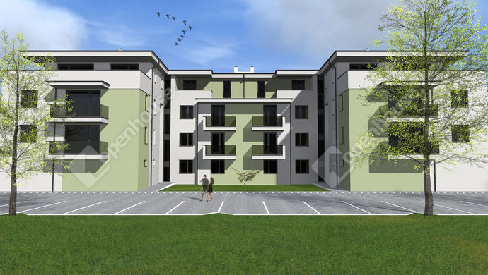 1. kép | Eladó  új építésű, penthouse lakás Székesfehérvár | Eladó Társasházi lakás, Székesfehérvár (#139013)