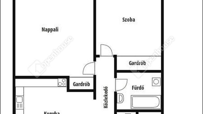4. kép | Alaprajz | Eladó Társasházi lakás, Zalaegerszeg (#143297)