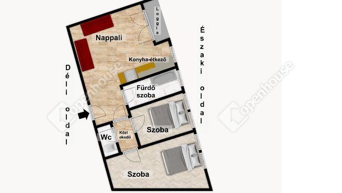 3. kép   Eladó Társasházi lakás, Eger (#152517)